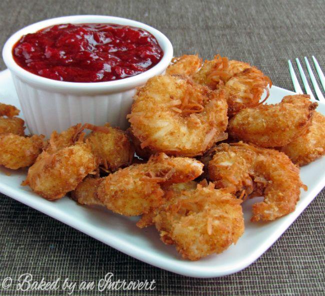 Coconut Shrimp with Spicy Strawberry Chutney | Recipe