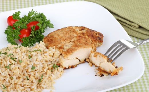Crispy Parmesan chicken | Epicure goodness! | Pinterest