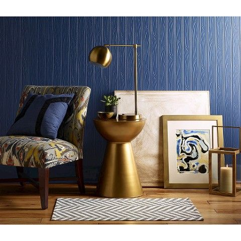 A HOUSE ON THE HILL: Lately Loving // Gold Task Lamp from Target