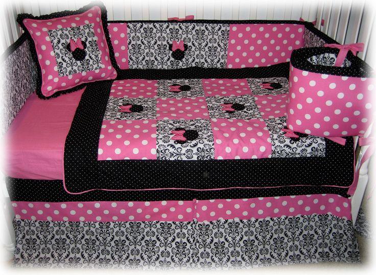 Minnie Mouse Bassinet Bedding Set ~ Tokida for . : minnie mouse cot quilt - Adamdwight.com