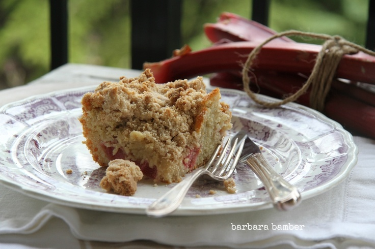 Rhubarb Big Crumb Coffee Cake | Recipe