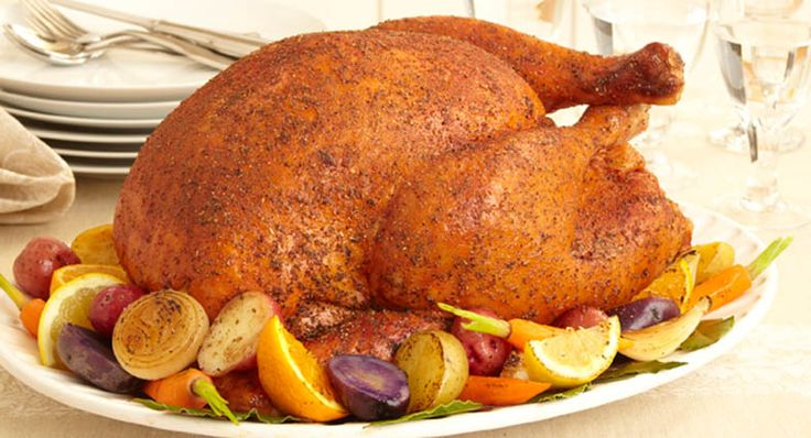 Savory Herb Rub Roasted Turkey- McCormick gives this recipe for those ...