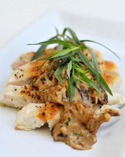 Chicken with Mushroom Cream Sauce Recipe - Go Dairy Free* made this ...