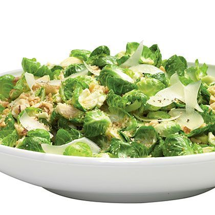 Nutty Warm Brussels Sprouts Salad Recipe | MyRecipes.com