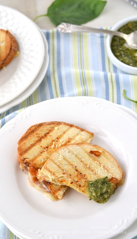 More like this: paninis , grilled cheeses and basil pesto .