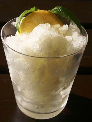 Lemon Granita Recipe — Dishmaps