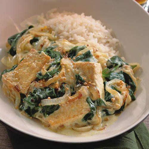 Saag Tofu Recipe | Food | Pinterest