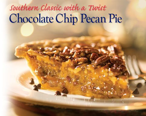Emeril's Pecan-Chocolate Chip Pie Recipe — Dishmaps