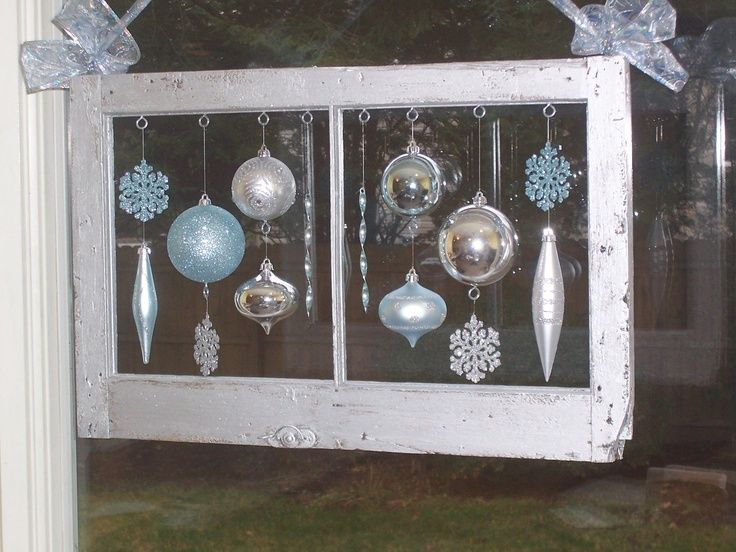 Pin by terese jagla on holidays pinterest for Old wooden windows craft ideas