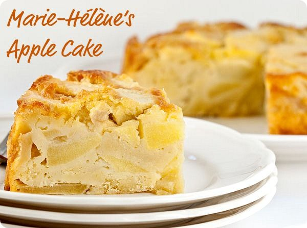 FFwD: Marie-Helenes Apple Cake | Sticky, Gooey, Creamy, Chewy | A Blog ...