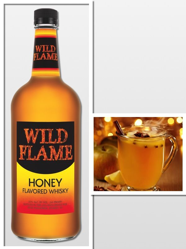 Honey Hot Toddy 2 oz. Wild Flame Honey Flavored Whiskey Dash of Honey ...