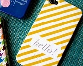 iphone case (i just called to say hello!)