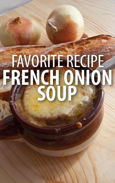 The Chew: Clinton Kelly Beef Broth + Red Wine French Onion Soup Recipe
