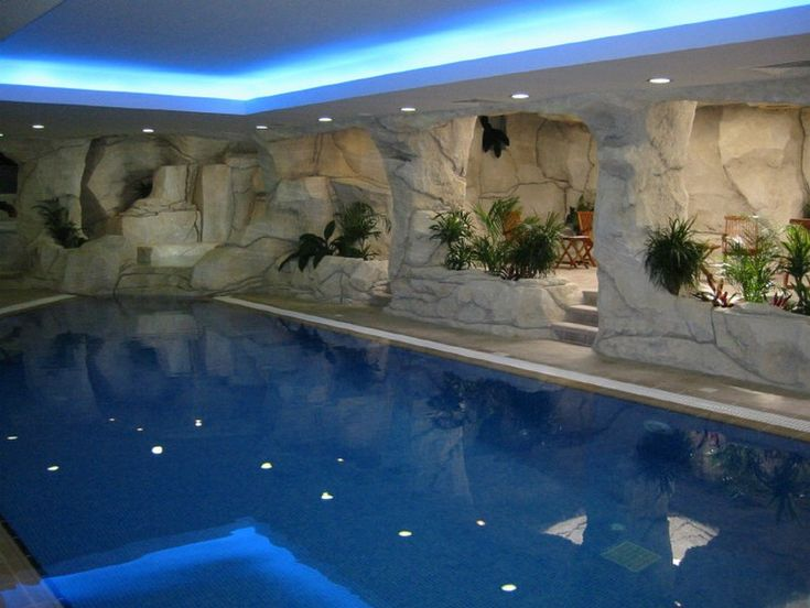 Indoor pool just cool stuff pinterest for Cool outdoor pools