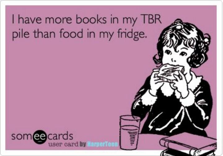 always true - and my fridge is stuffed!