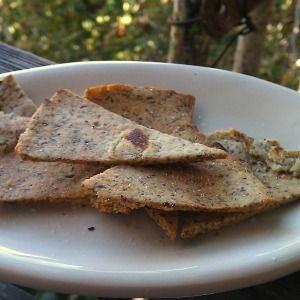 Almond Flour Flatbread with Olive Oil and Sea Salt