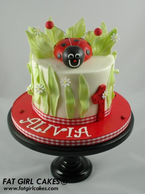 Buttercream - Ladybug CAKE DECORATING IDEAS Pinterest