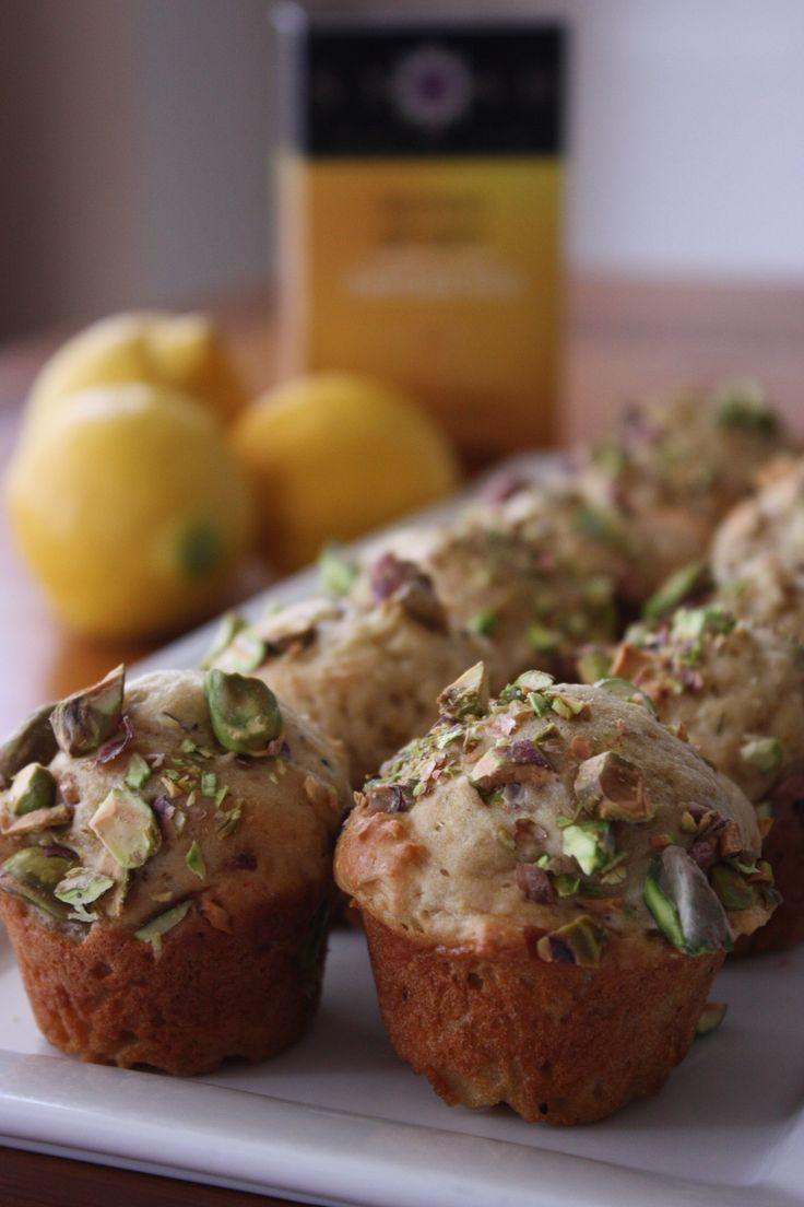 Lemon Ginger Tea Muffins   Cuppie Cakes   Pinterest