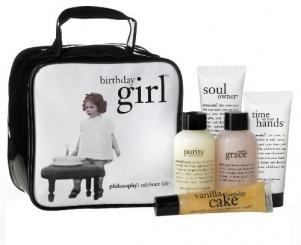 The birthday girl   gift set   philosophy