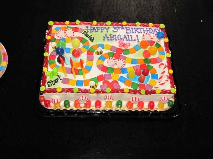 Candyland Cake Birhtday Party Ideas Pinterest