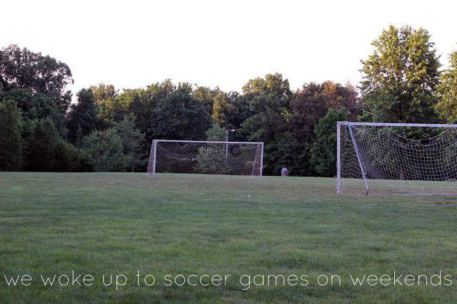 Backyard Soccer Field : Backyard soccer field