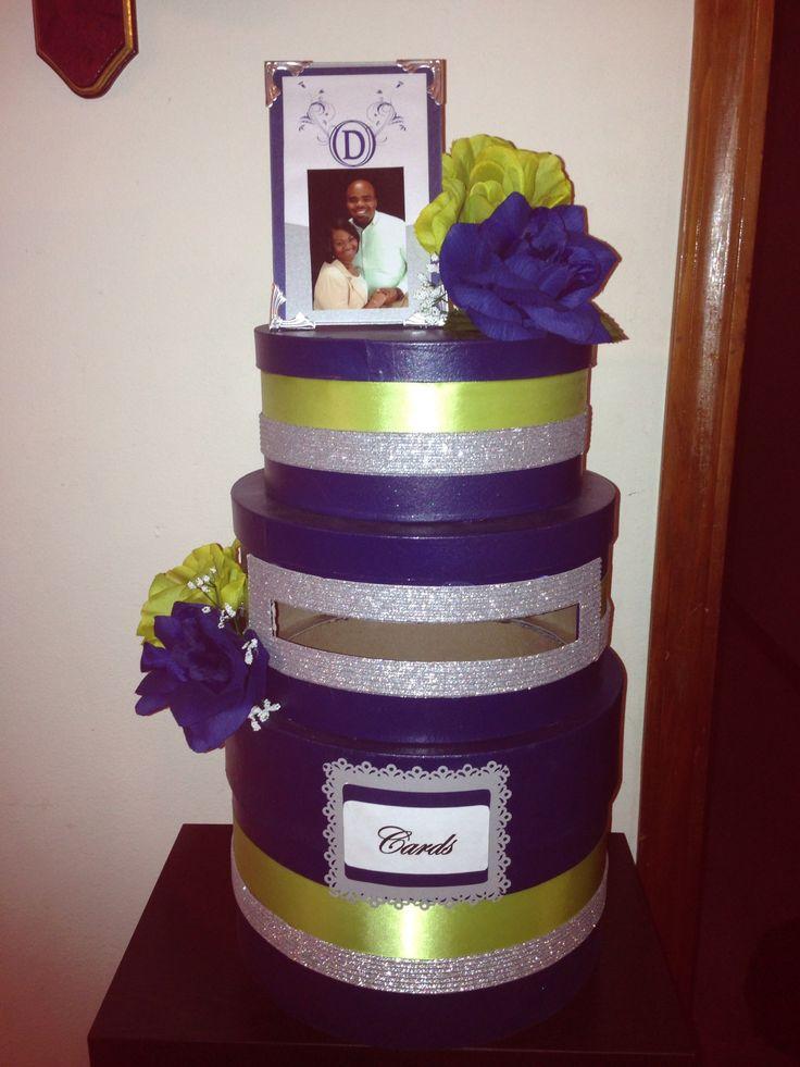 Wedding Gift Card Box Diy : DIY wedding gift card box diy wedding gifts Pinterest