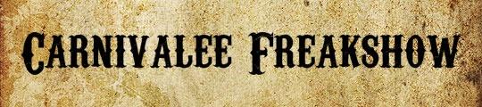 Carnivalee Freakshow free font | wild west | Pinterest