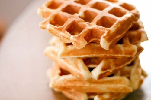 Easy Buttermilk Waffle Recipe | To eat wonderful food | Pinterest