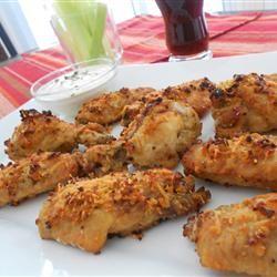 Garlic and Parmesan Chicken Wings Allrecipes.com Dinner tonight ...