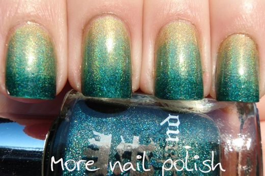 Holo green gradient