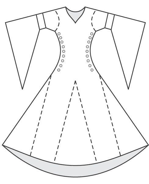Pattern bliaut