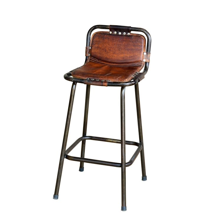 Factory bar stool with leather seat Audreys Board  : 4580e2dc816dfd564dce6945ff4c83d4 from pinterest.com size 736 x 736 jpeg 28kB