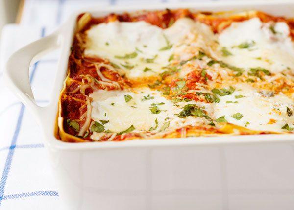 No-Bake Grilled Vegetable Lasagna Recipe — Dishmaps