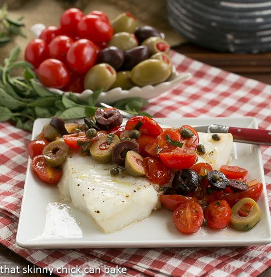 Salt-Baked Sea Bass With Tomato Vinaigrette Recipe — Dishmaps