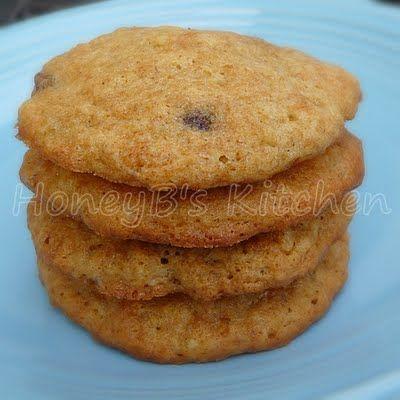 ... Honeybunch: Banana Cake Cookies with Chocolate, Walnuts, and C