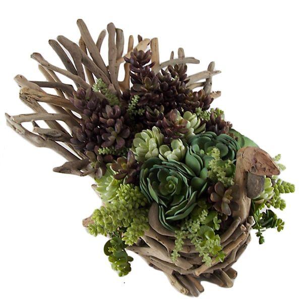 Flower Arrangement Using Driftwood: Pin By Treva Sharp On Driftwood