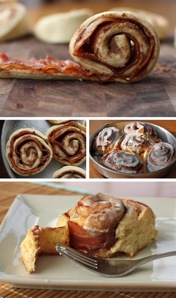 Bacon and Brown Sugar Cinnamon Rolls. These cannot be unseen. Eleanor ...