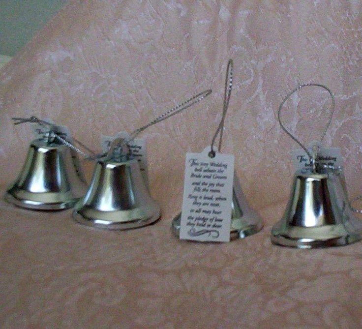 wedding reception favors kissing bells bridal accessories diy bride