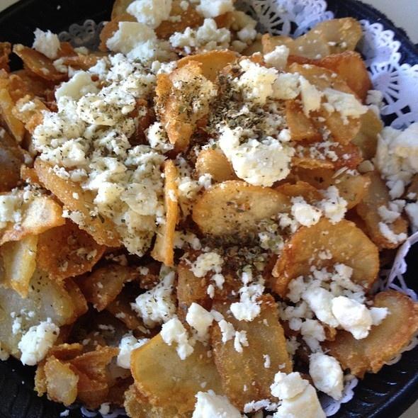 Feta fries - Paul's Place, Los Alamitos | Appetizers | Pinterest