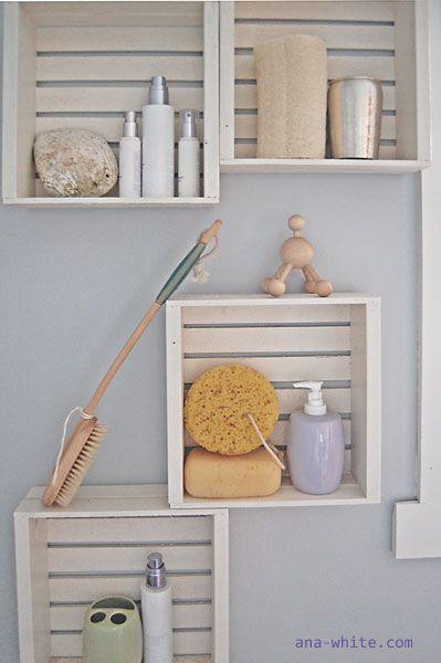 crate shelfs