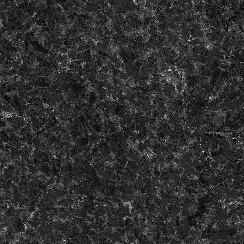 Angola Black granite countertop sample