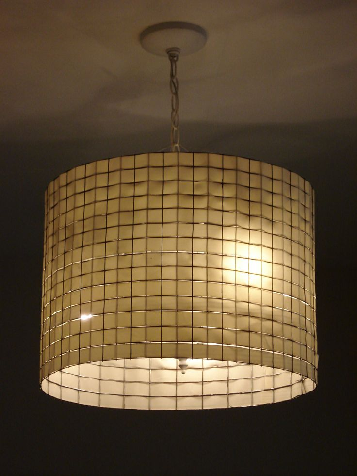 lamp shade chicken wire and ribbon actually i think that 39 s hardware. Black Bedroom Furniture Sets. Home Design Ideas
