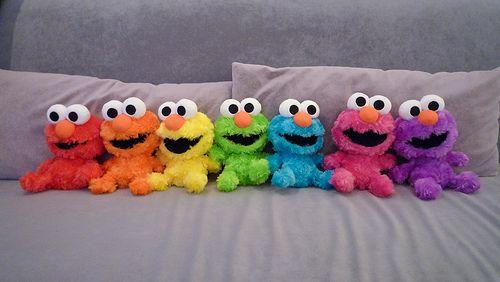 Elmos - this made me smile! :D