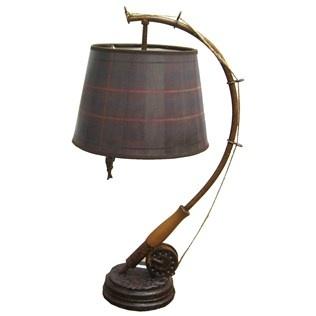 Fishing Rod Reel Lamp Repurposing Pinterest