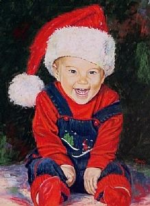 """The Joy of Christmas"" By Daggi Wallace.  Baby alex;)"