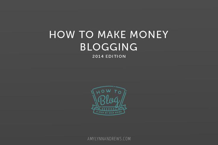 Amy lynn andrews how to make money blogging
