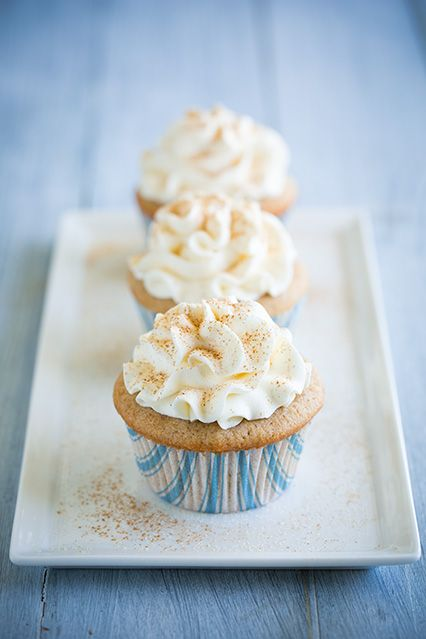 Snickerdoodle Cupcakes - These cupcakes melt away in your mouth. They ...