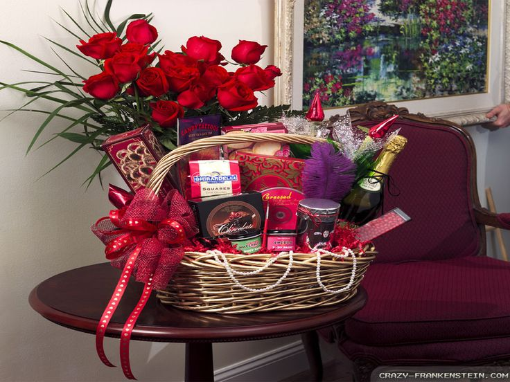 valentines gifts baskets for her