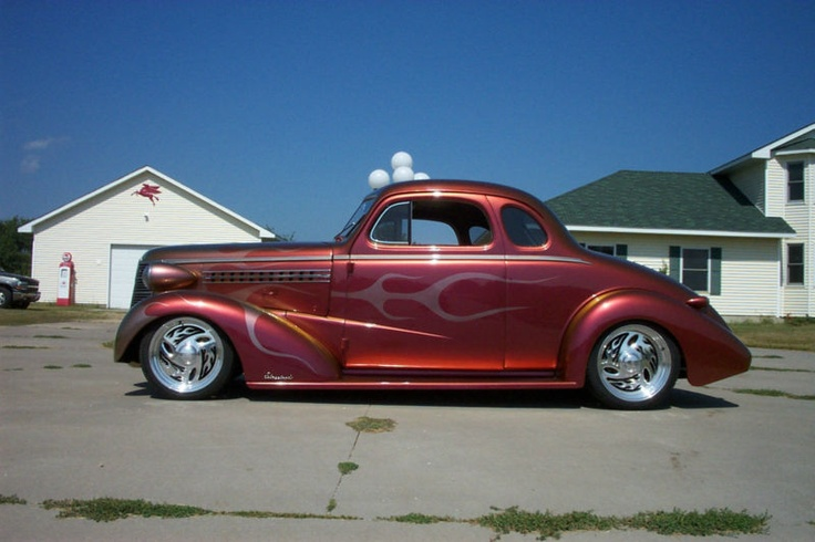 1938 chevy 5 window business coupe | Rods | Pinterest