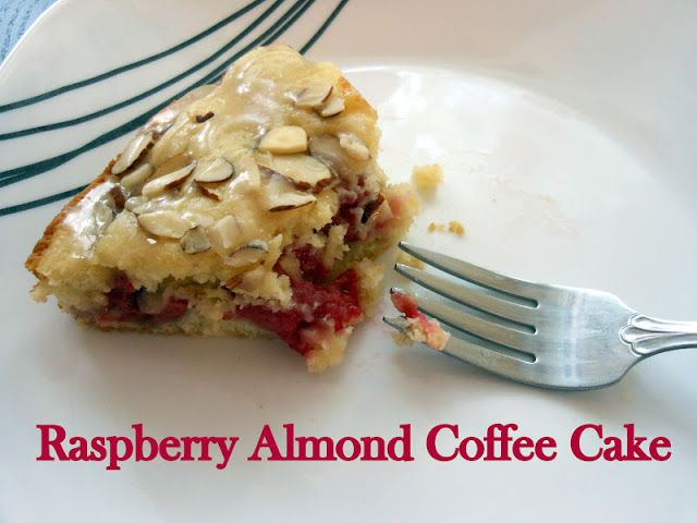 Flavors by Four: Raspberry Almond Coffee Cake